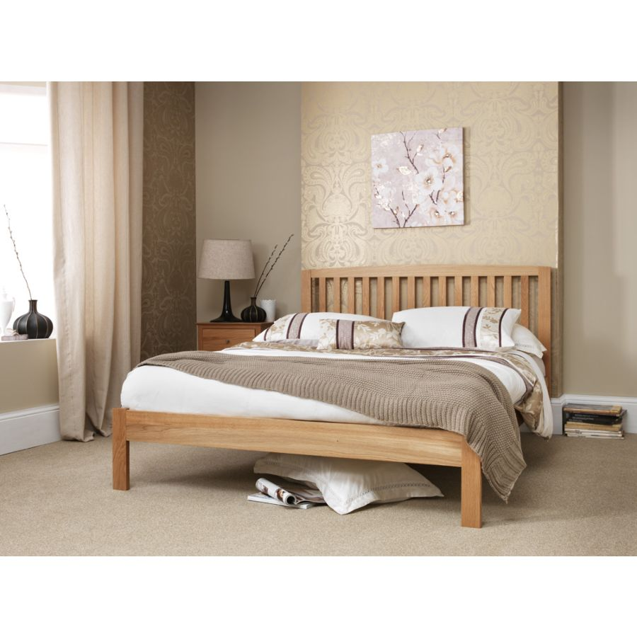 pretty nice 85f52 cdca9 Thornton American White Oak Superking 6ft Bed Frame