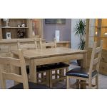 Ruby Small Extending Dining Table - closed position