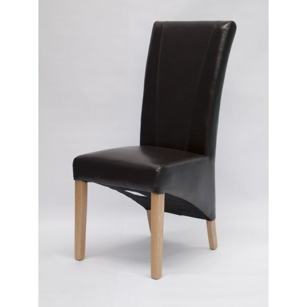 Blakely Brown Bonded Leather Chair