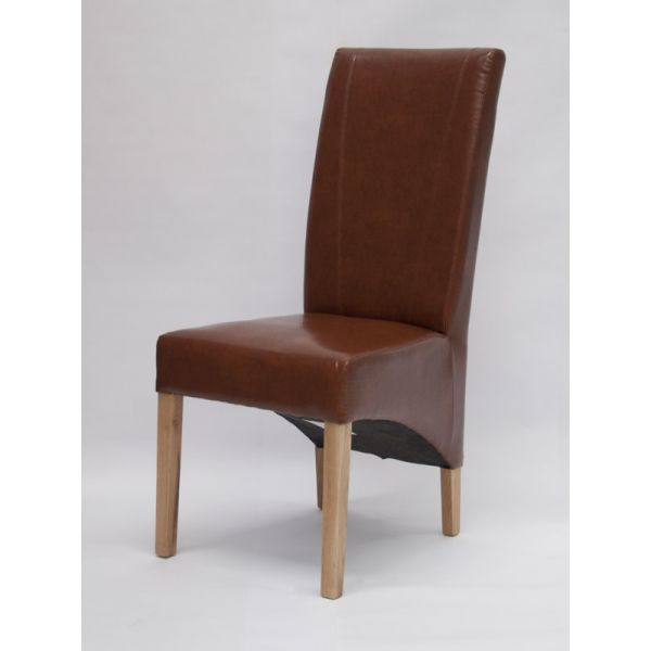 Blakely Tan Bonded Leather Chair