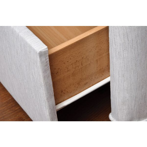 Drawer construction may differ