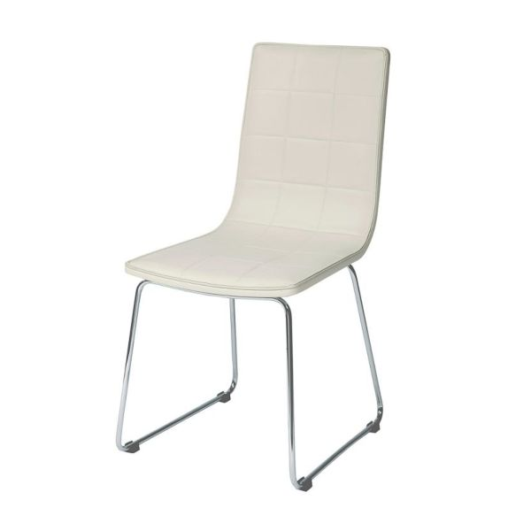 Enzo White Dining Chair