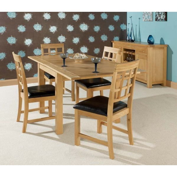 Hudson Dining Set - table extended
