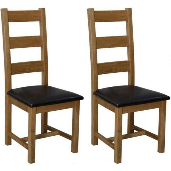 Latimer Chairs with Brown Seatpads