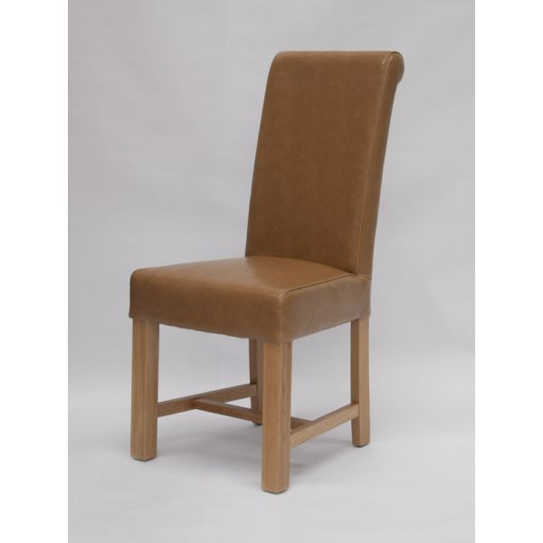 Nashville Tan Bicast Leather Chair