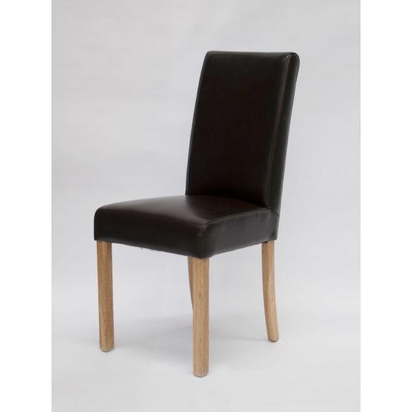 Merrydale Brown Bicast Leather Chair