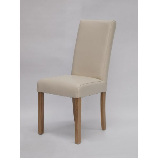 Merrydale Ivory Bicast Leather Chair