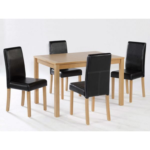 Oakridge Dining Table pictured with Oakidge Chairs (not included)