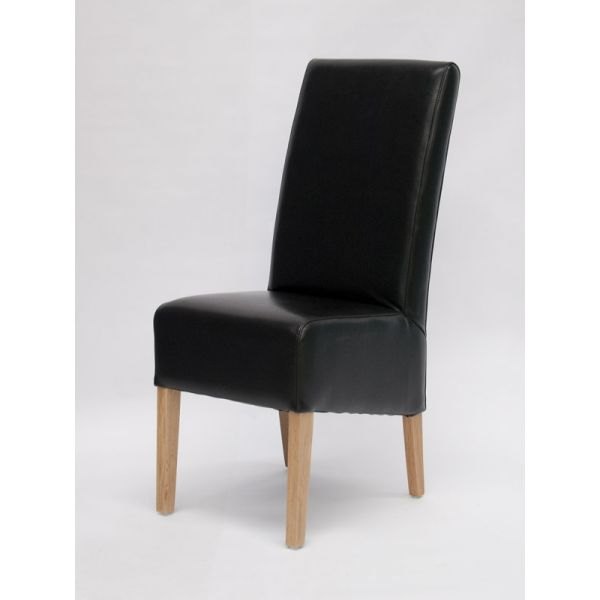 Callaway Black Bicast Leather Chair