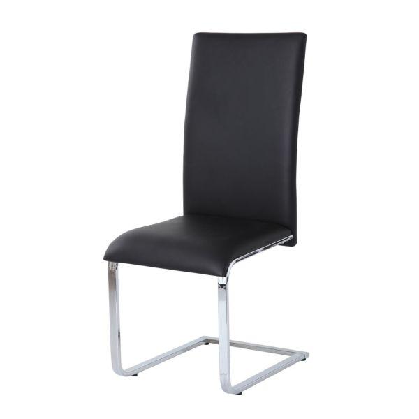 Vetro Black Chair